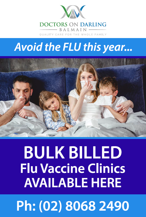 Doctors on Darling Flu Vaccine Clinics Available